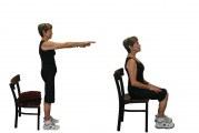 Паркинсон упражнения за изпълнение на стол